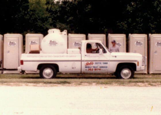 Bob's Privies Truck
